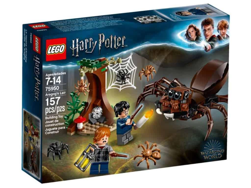 Lego relançará set de Aragogue na Floresta Proibida