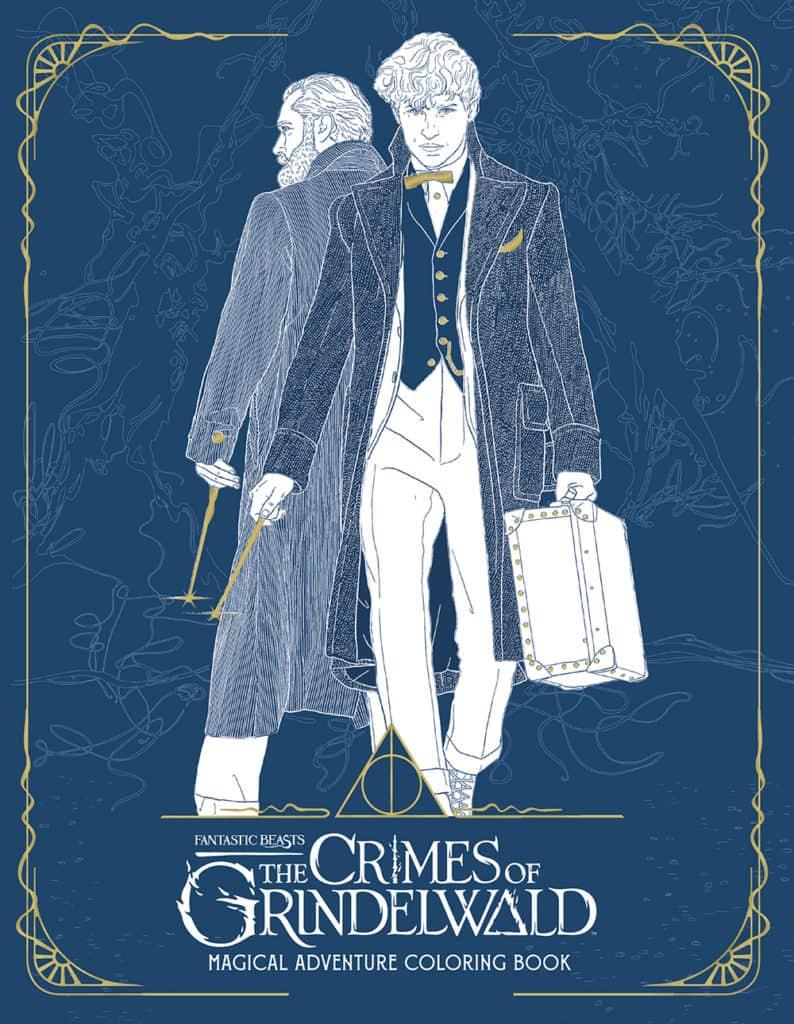 Os Crimes de Grindelwald terá livro de colorir; veja prévias